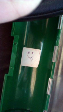 Happy Face in a tube