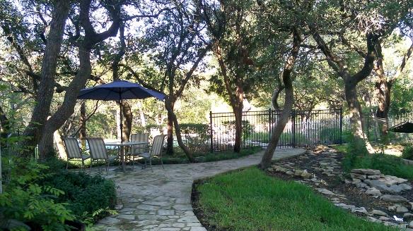 texas backyard
