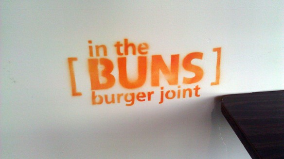 In the buns