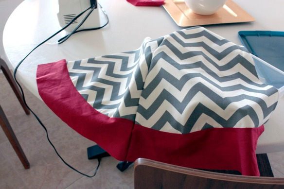 sew panels together