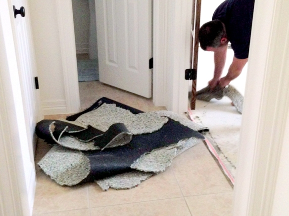 removingcarpetpad